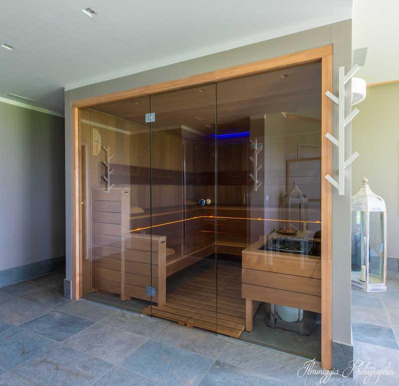 sauna centro benessere il cigno