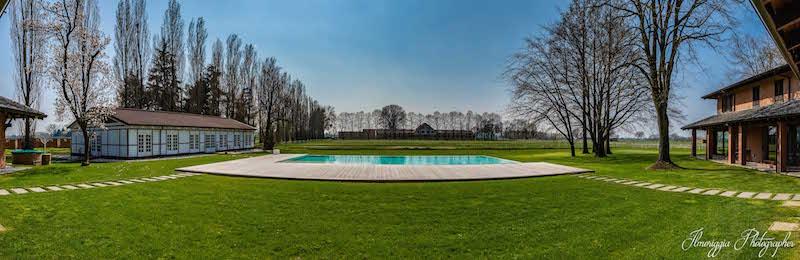 villa piscina il cigno