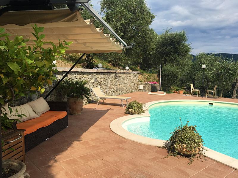 villa rosetta 7 piscina