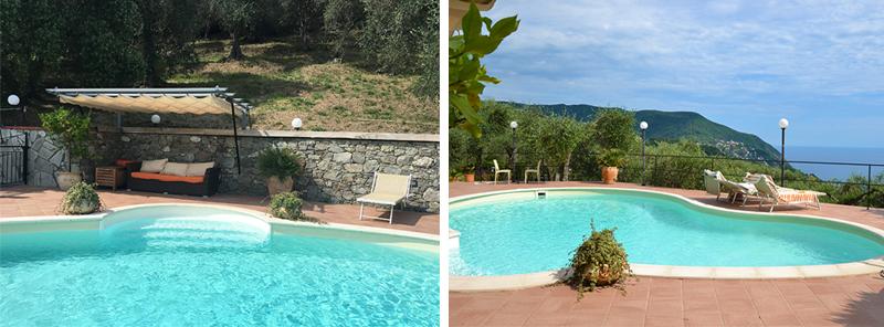 villa rosetta piscina 2