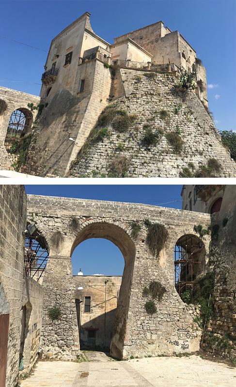 ginosa castello