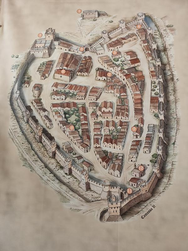 mesagne-cartina