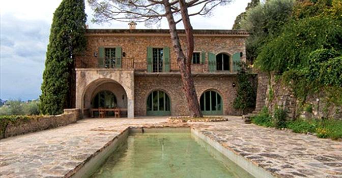 Mougins - Mas de Notre Dame de vie, l'ultima residenza di Picasso.