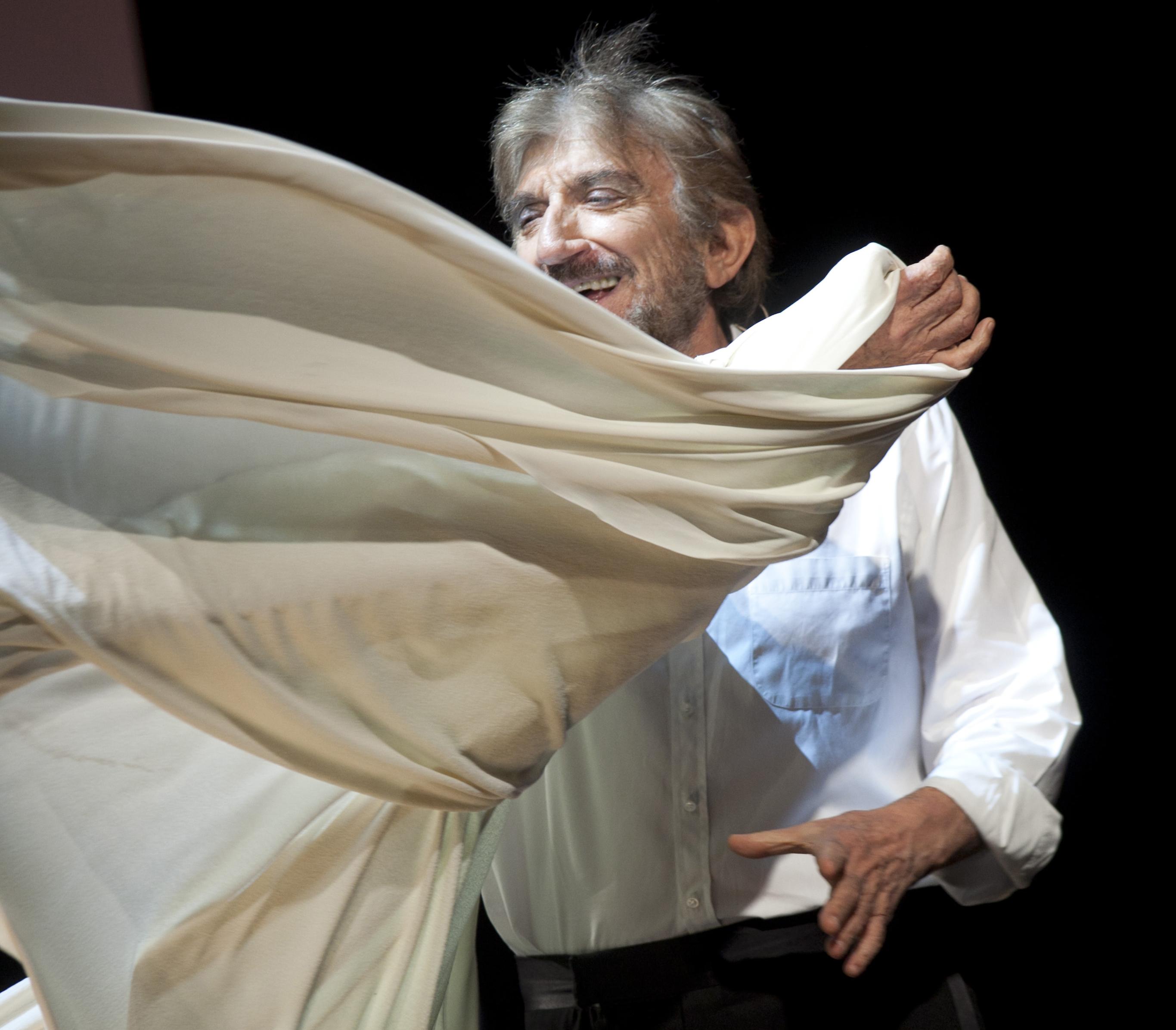 Roma,Teatro Sistina 21 06 2011. Gigi Proietti in ''Di Nuovo Buonasera''. ©Musacchio & Ianniello