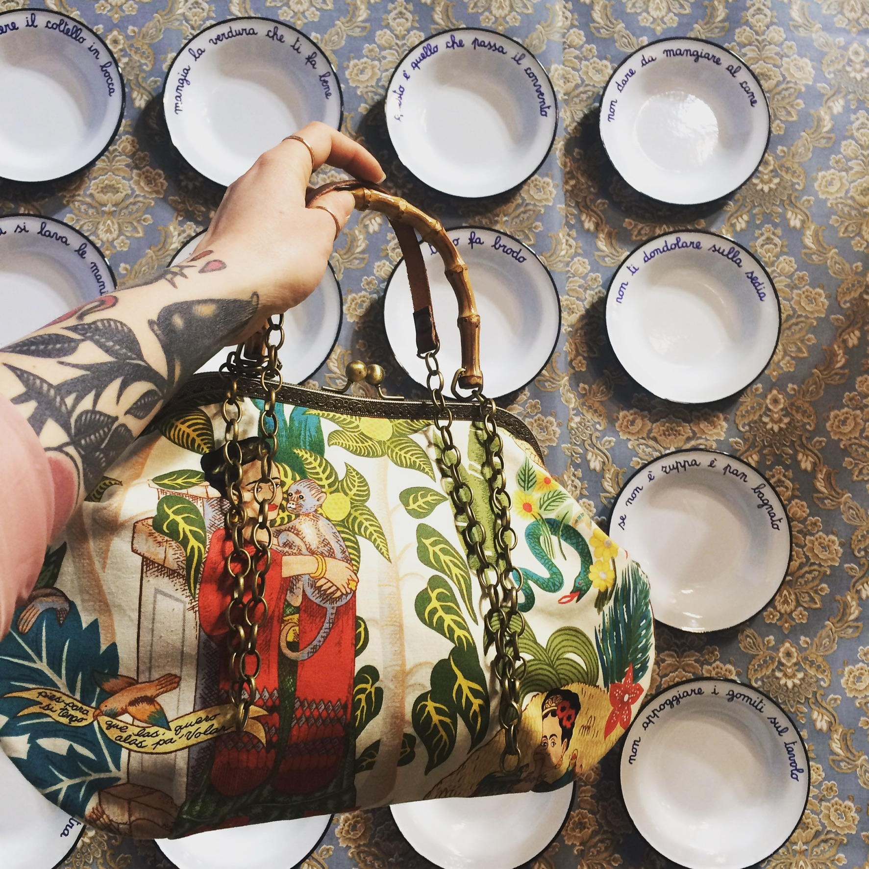 LeT Bags collezione Frida Kalo 20171