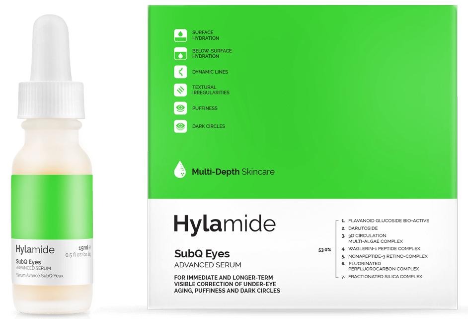 8.HYLAMIDE - Per la correzione visibile dei segni dell'invecchiamento del contorno occhi, delle borse oculari e delle occhiaie